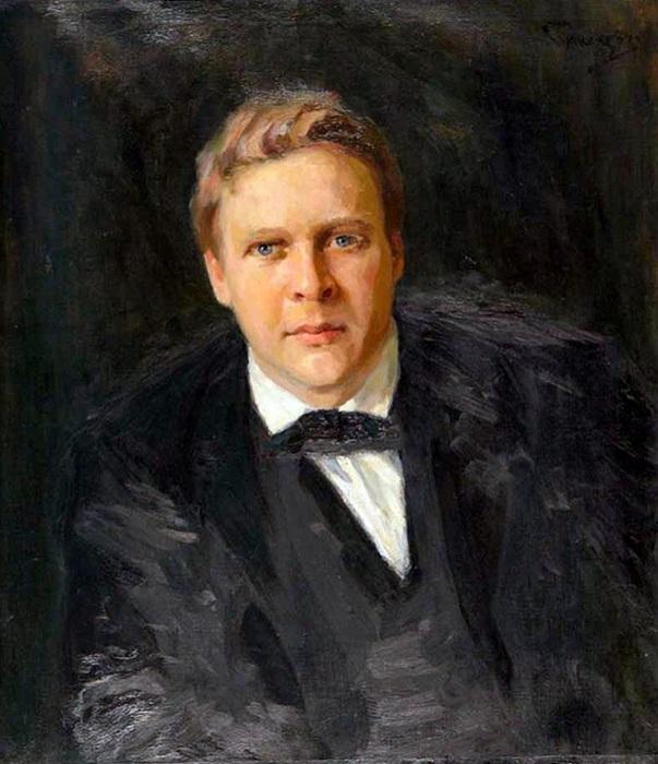 Портрет Федора Шаляпина. Автор: Николай Кузнецов.
