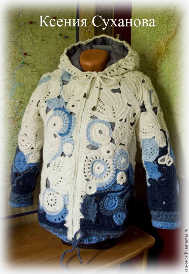 Теплая осенняя куртка с подкладом на синтепоне, фото № 18