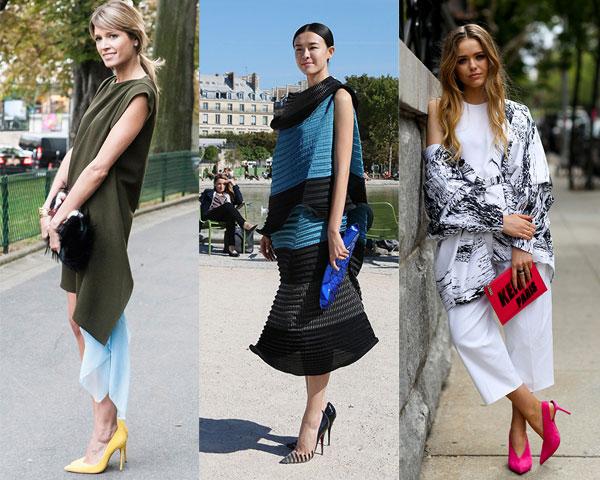 Уличная мода весна-лето 2015: Модные туфли-лодочки