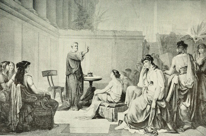 Для женщин в пифагорейском союзе тоже были открыты двери