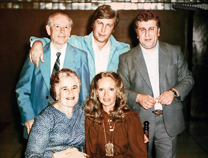 В гостях у родителей Владимира Винокура в Курске. / Фото: семейный архив