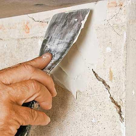 Как устранить дефекты стен