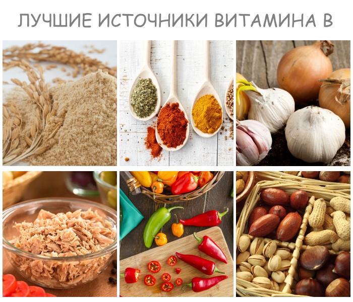 Витамины для кожи - в каких продуктах их больше всего?