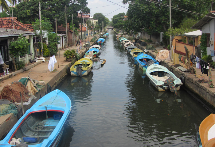 Каналы Негомбо