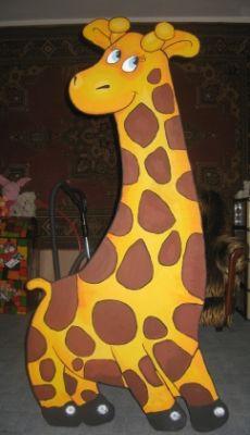"""Детский столик """"Жираф"""". Мебель своими руками"""