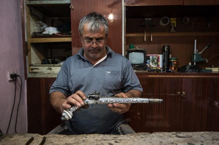 Дагестан, мастерские, меч, оружие, пистолет