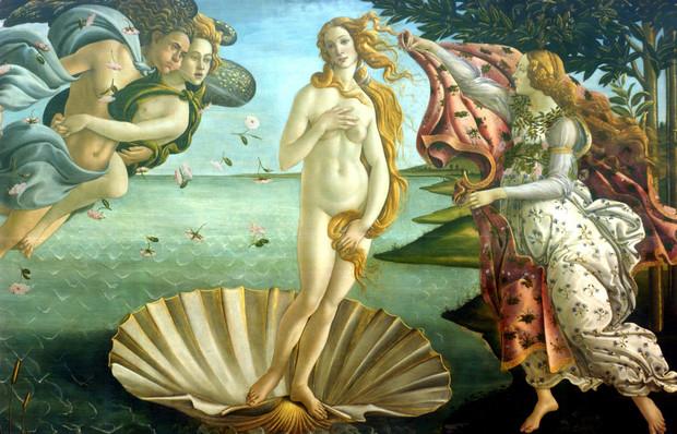 «Рождение Венеры», Сандро Боттичелли