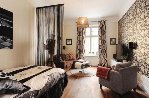 Яркий дизайн квартиры!