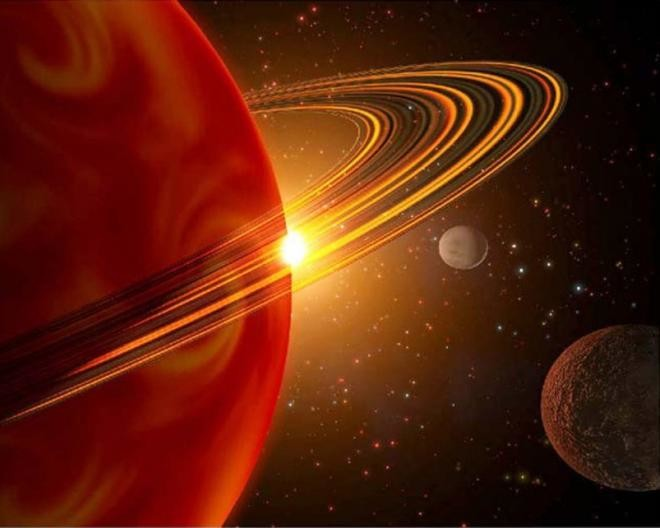 6. Кольца Сатурна. космос, планеты, солнечная система, факты, чудеса