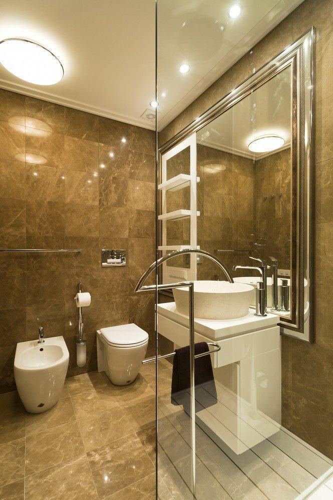 Фотография: Ванная в стиле Современный, Квартира, Дома и квартиры, Москва – фото на InMyRoom.ru