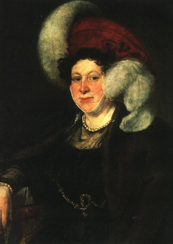 Портрет графини Н.А. Зубовой