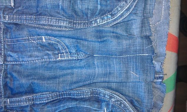 Модная сумка из старых джинсов, фото № 29