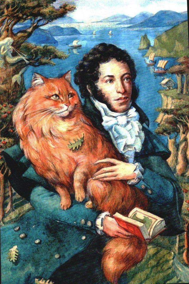 схемы картинка кота ученого из пушкина также многим нравится