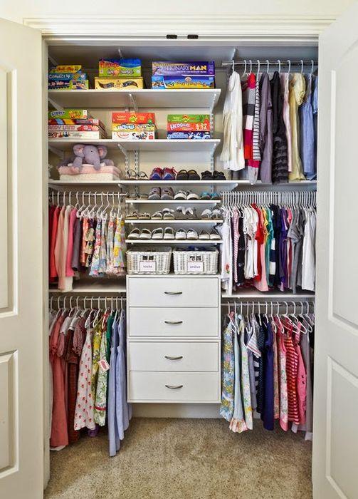 Системы хранения для детских вещей