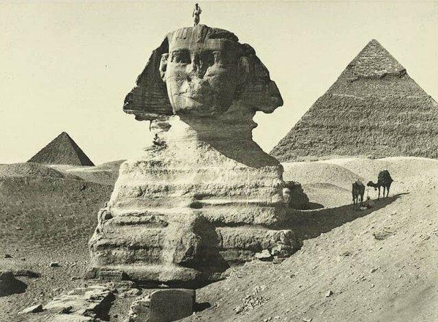 «Отец страха»: какие тайны скрывает египетский Сфинкс египет, пирамида, пустыня, сфинкс, фараон.