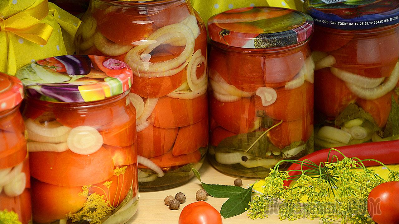 Зеленые помидоры на зиму долькамиПальчики оближешь