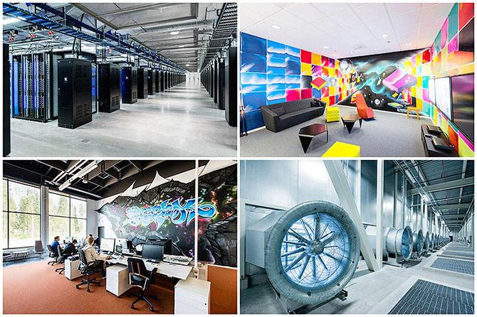 Экскурсия в центр обработки данных Facebook возле полярного круга