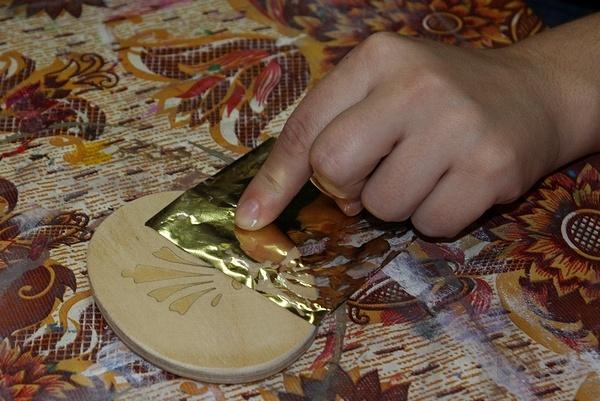 золото поталь