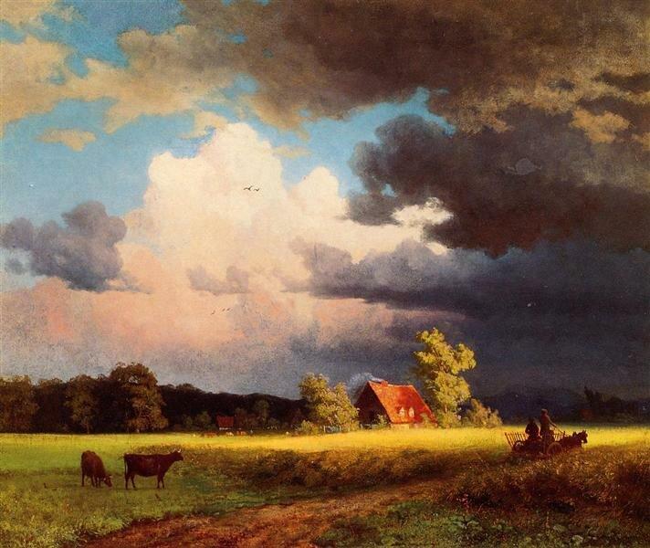 Баварский пейзаж. 1850 г.