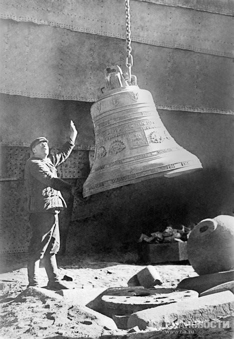 Судьбы церковных колоколов искусство, история, колокола, судьба