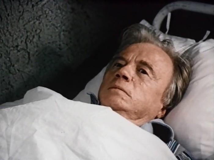 Алексей Консовский, кадр из фильма «Похороны Сталина», 1990 год. / Фото: www.kino-teatr.ru