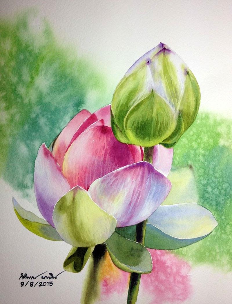 Цветы в творчестве