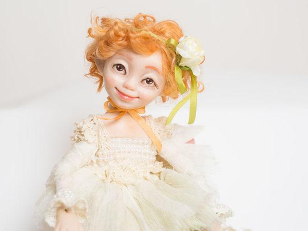 Мастерим куколку-цветочек | Ярмарка Мастеров - ручная работа, handmade