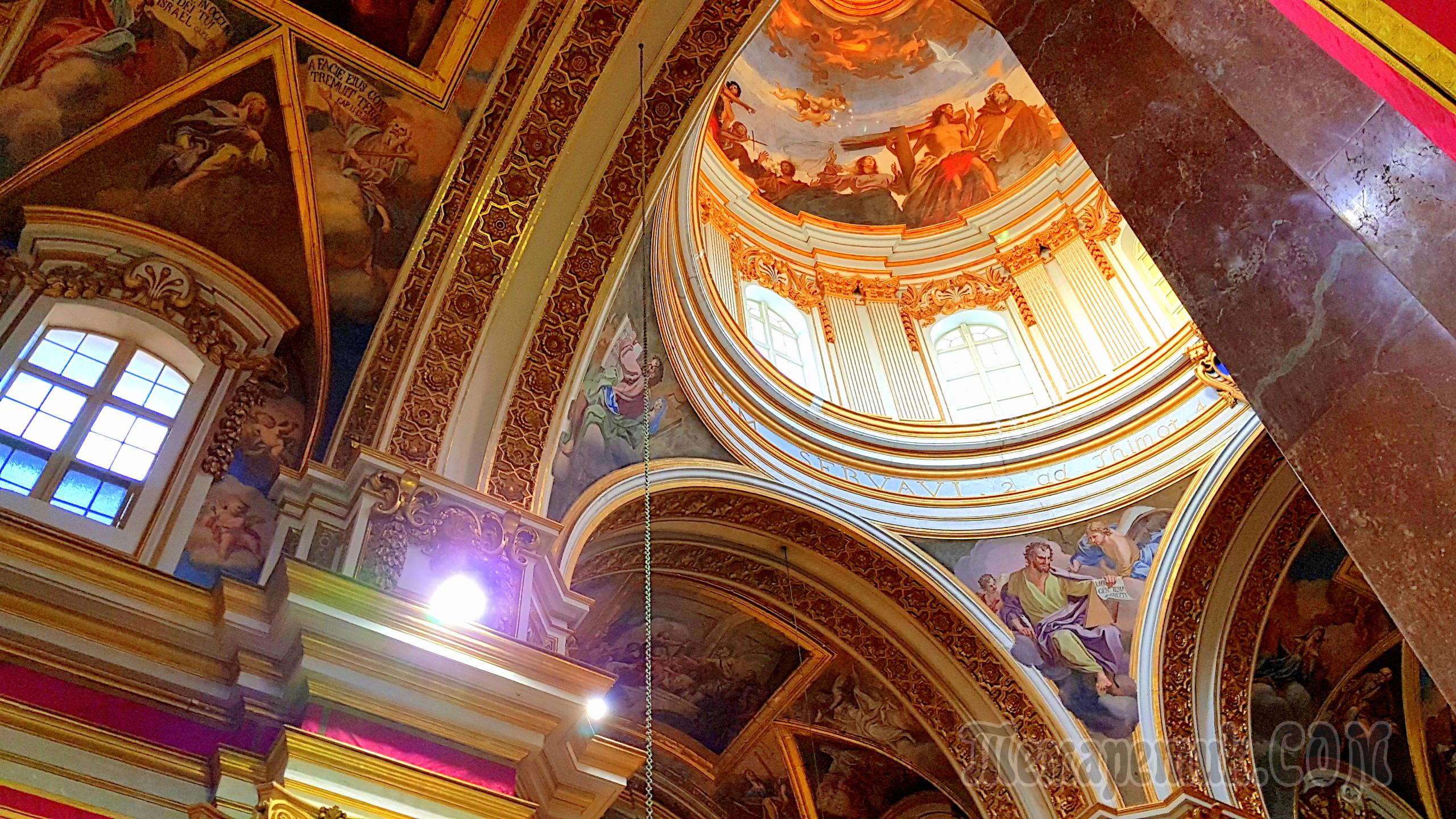 st pauls cathedral mdina - HD2560×1440