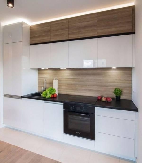 современный дизайн маленькой кухни, фото 7