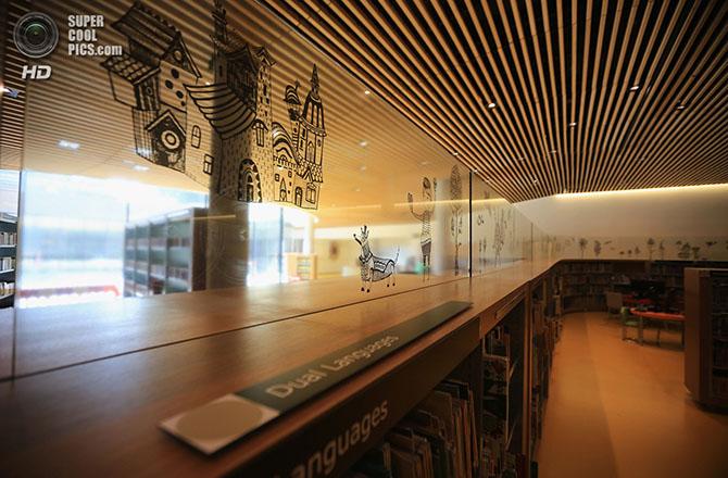 Открытие самой большой библиотеки Европы