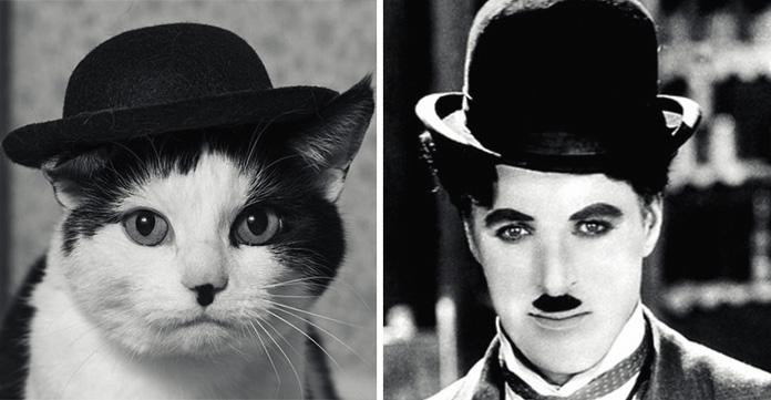 Поразительное сходство :-))  нарочно не придумаешь :-))