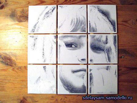 Изображение на плитке