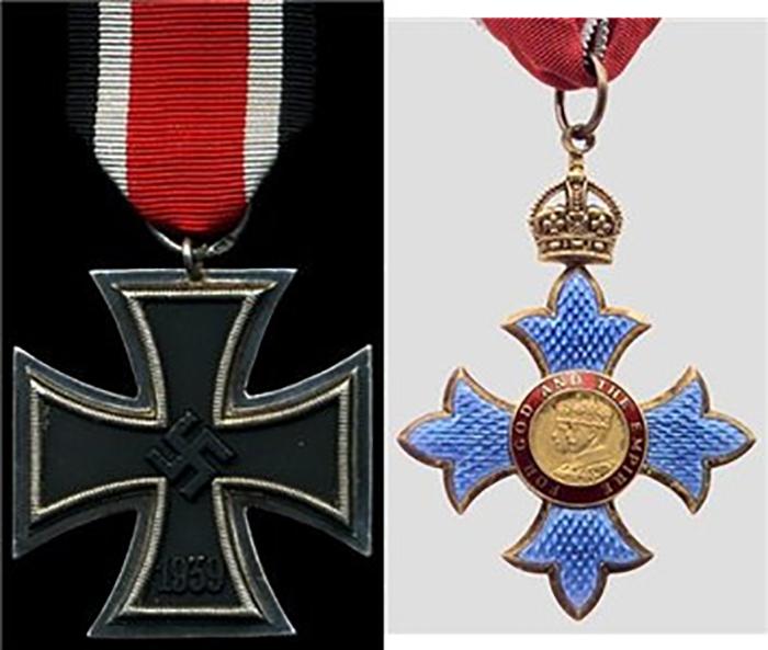Две награды, которое нельзя носить одновременно.