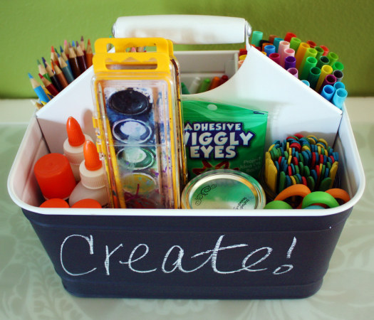 советы родителям, коробка для творчества