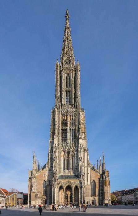 Самый-самый высокий в мире шпиль.