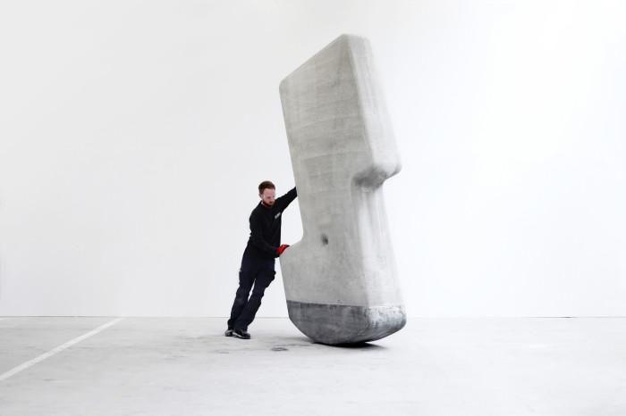 Сотрудники лаборатории Matter Design доказали, что блоки весом до 25 тонн можно передвигать одному человеку