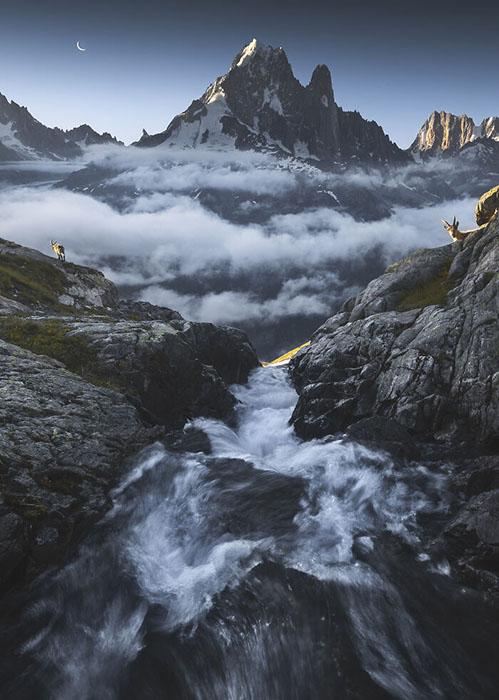 Горный ландшафт настолько хорош, что трудно дышать!