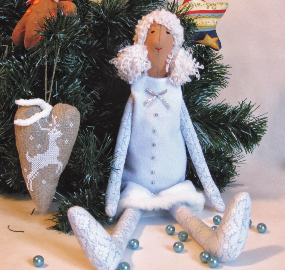 Как сшить снегурочку куклу своими руками 958