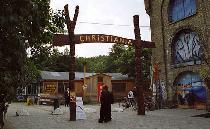 Свободный город Христиания - современная анархическая община.