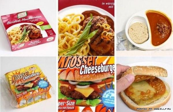 Реклама против реальности: продукты питания (6 фото)