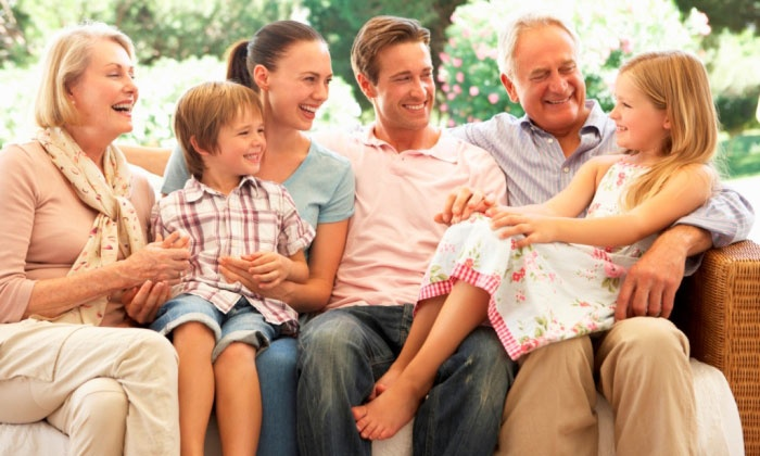 Обычай общения всей семьей