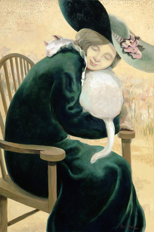 Woman in Green #11-70