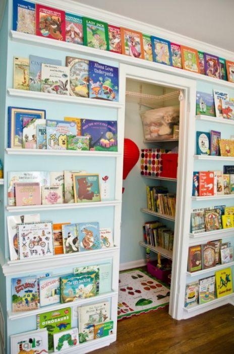 Хранение детских книг и игрушек