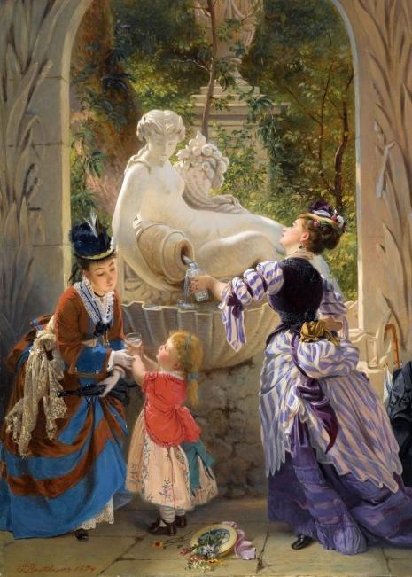 художник Charles Edouard Boutibonne (Шарль Эдуар Бутибон) картины – 10