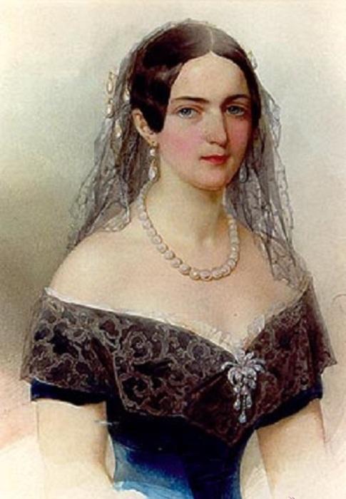 Светская львица из шведского рода Шернваль из Финляндии, фрейлина и статс-дама русского императорского двора, крупная благотворительница.