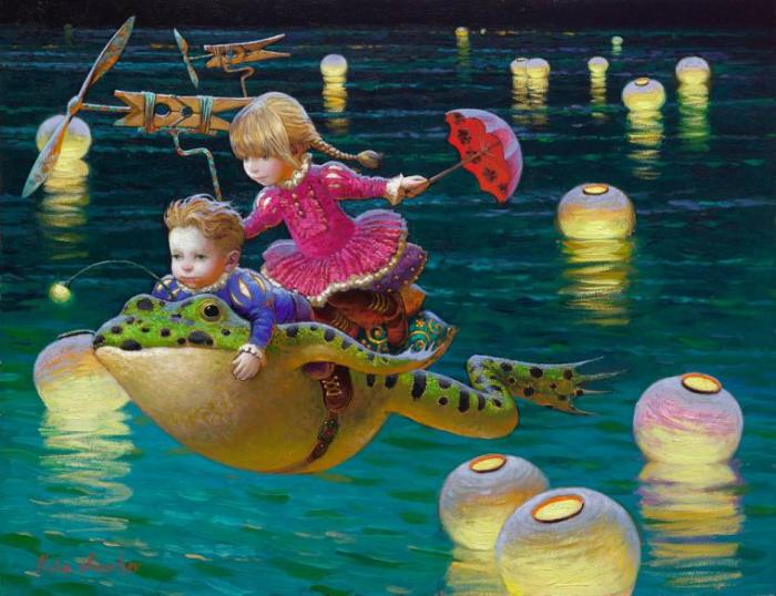 Волшебные фонарики. Автор: Виктор Низовцев.