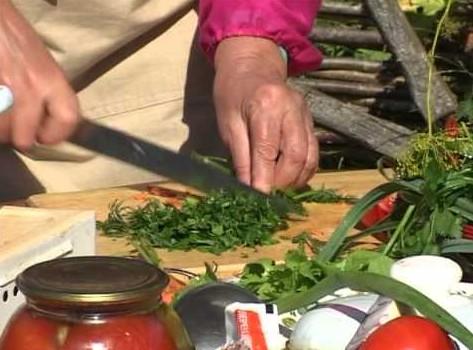 Использование листового сельдерея в пищу