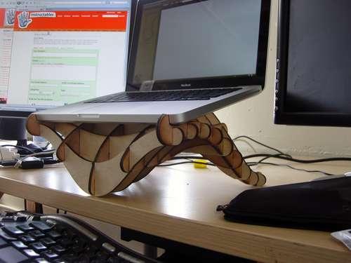 Технология изготовления подставки для ноутбука