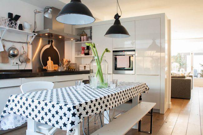 Красивая кухня в скандинавском стиле