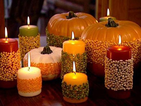 Свечи для дома ко дню всех святых -фото